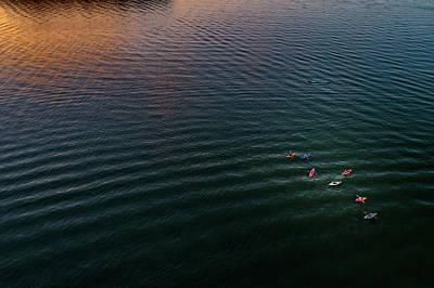 Photograph - Colorful Kayaks by Nick Smith