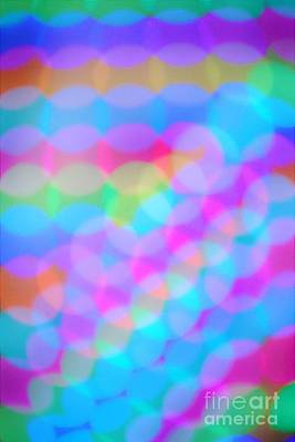 Photograph - Colorful Lights by Merle Grenz