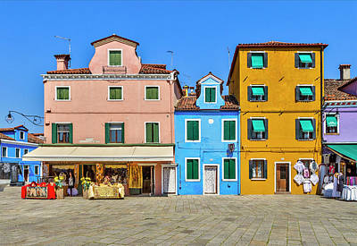 Photograph - Colorful Shopping by Roberto Pagani