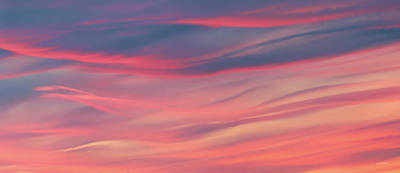Photograph - Colorful Sky Patterns And Shapes by Leland D Howard