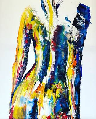 Painting - Colorful Soul Contemporary Painting by Jennifer Morrison Godshalk