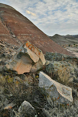 Photograph - Colorful Wash Of Ruby Mountain by Ray Mathis