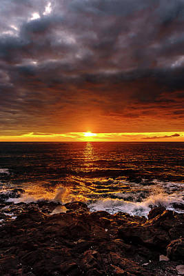 Photograph - Colorful Weekend Sunset by John Bauer