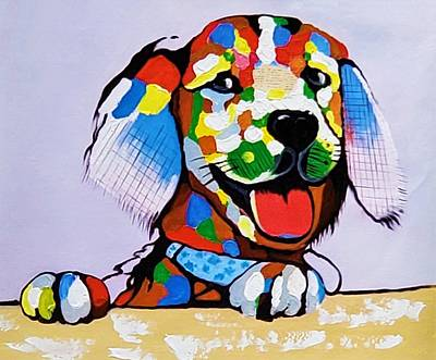 Photograph - Colorpuppy by Rob Hans