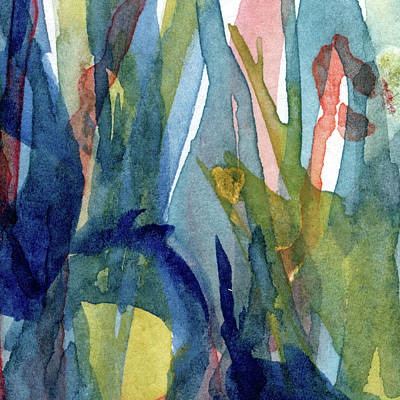 Recently Sold - Music Paintings - Colors 10 - Abstract Watercolor Painting by Susan Porter