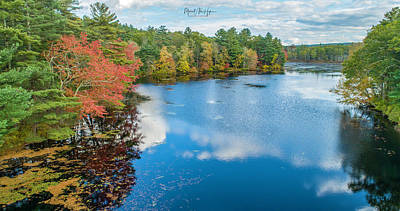 Photograph - Colors Of Cady Pond by Michael Hughes