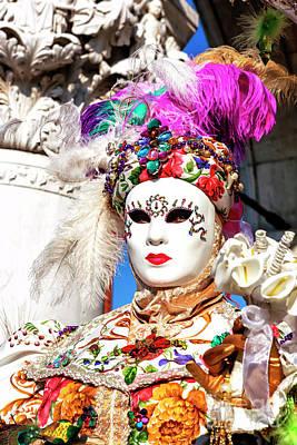 Photograph - Colors Of Carnevale Di Venezia by John Rizzuto