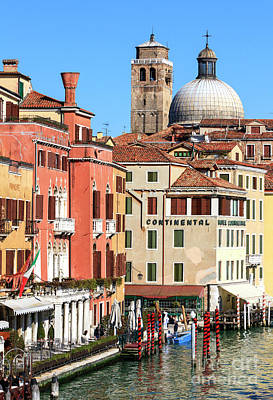 Photograph - Colors Of Venice by John Rizzuto