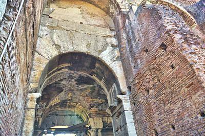Photograph - Colosseum Passageway by JAMART Photography