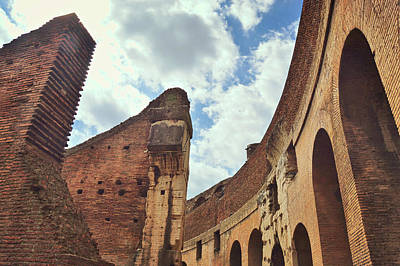 Photograph - Colosseum Spirals by JAMART Photography