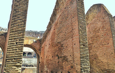 Photograph - Colosseum Touring by JAMART Photography