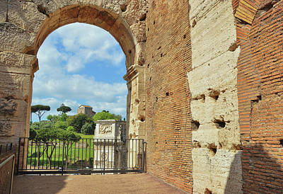 Photograph - Colosseum Window by JAMART Photography