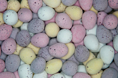 Photograph - Colourful Mini Eggs II by Helen Northcott