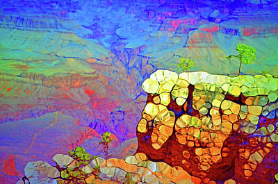 Digital Art - Colours Inside The Canyon by Tara Turner