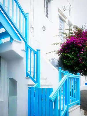 Photograph - Colours Of Mykonos by Nicholas V K