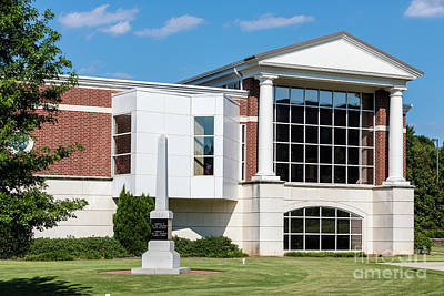 Photograph - Columbia County Main Library - Evans Ga by Sanjeev Singhal