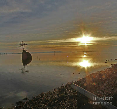 Wall Art - Photograph - Columbia River Sunset by Gary Wing