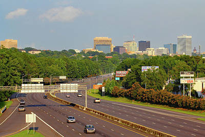 Photograph - Columbia Skyline From Greystone by Joseph C Hinson Photography