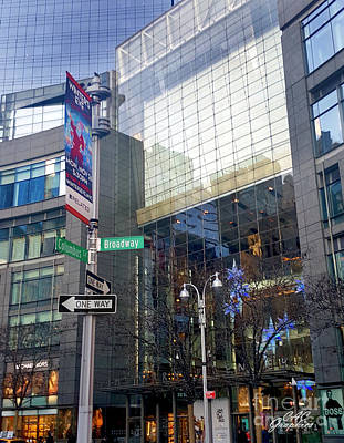 Photograph - Columbus And Broadway by CAC Graphics