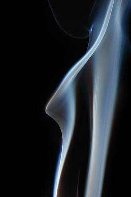 Photograph - Column Of Smoke by Paul Taylor