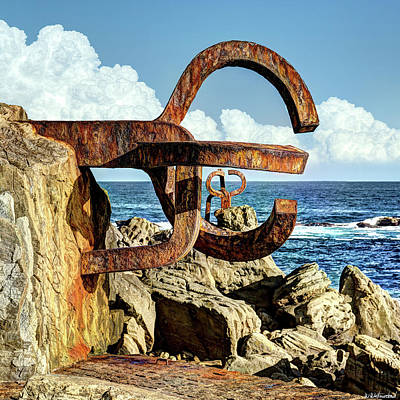 Photograph - Comb Of The Wind By Chillida 06 by Weston Westmoreland