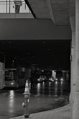 Photograph - Come Down Now, You'll Miss The Bus by Michael Nguyen
