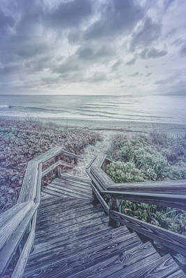 Photograph - Come Down To The Silver Sea  by Debra and Dave Vanderlaan