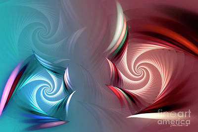 Digital Art - Come Together by Jutta Maria Pusl