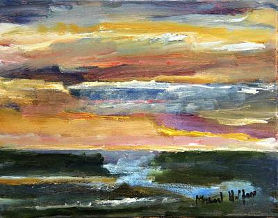 Painting - Comes The Dawn by Michael Helfen
