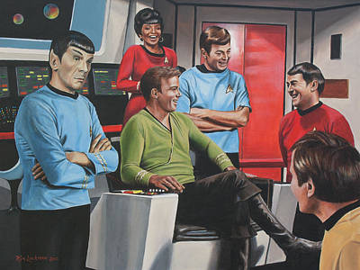 Comic Relief Art Print