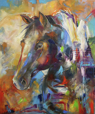 Painting - Coming Home by Laurie Pace