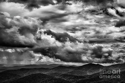 Photograph - Coming Storm Blue Ridge Mountains by Thomas R Fletcher