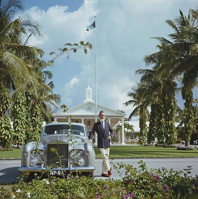 Bahamas Wall Art - Photograph - Commander Whitehead by Slim Aarons
