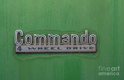 Photograph - Commando by Tony Baca