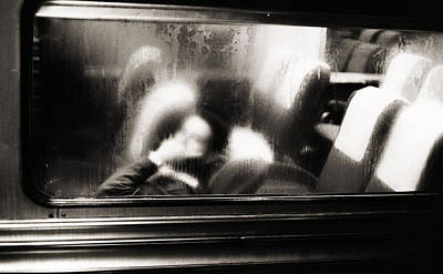 Photograph - Commuter Train, New York City, New by Alfred Gescheidt