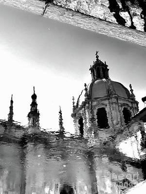 Photograph - Como Reflection Of The Duomo by Laurel McFarland