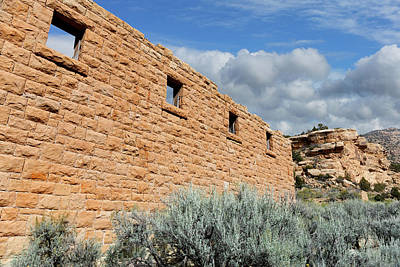 Photograph - Company Store Ruins In Sego Canyon  by Kathleen Bishop