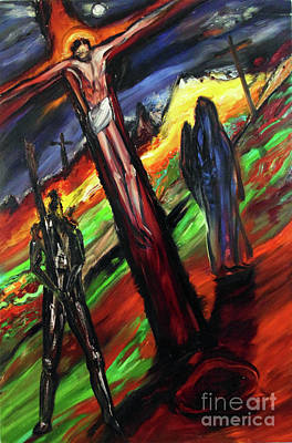 Painting - Compassion Of The Savior by Arthur Robins