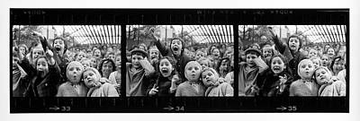 Performance Photograph - Composite Of Frames 33 34 & 35 Of by Alfred Eisenstaedt