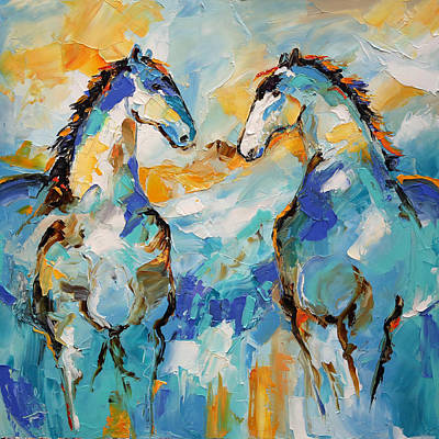 Painting - Compromise Like Minds by Laurie Pace