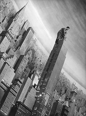 Photograph - Con Ed City Of Lights Exhibit by Margaret Bourke-white