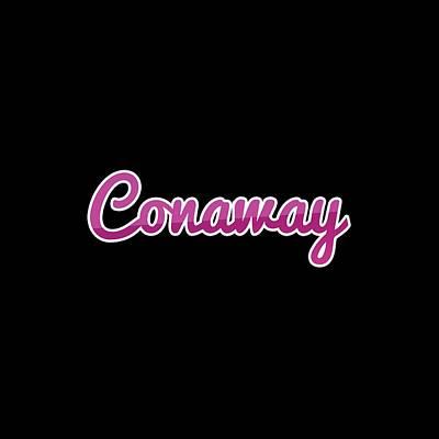 Typography Tees - Conaway #Conaway by TintoDesigns