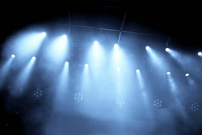 Photograph - Concert Lights by Nikada