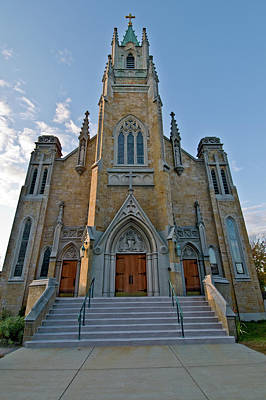 Photograph - Concord Church 1 by Paul Mangold