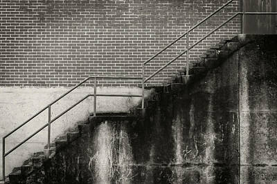 Photograph - Concrete Steps by Bud Simpson