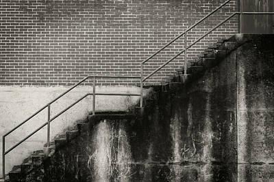Photograph - Concrete Steps by Bud Simpson