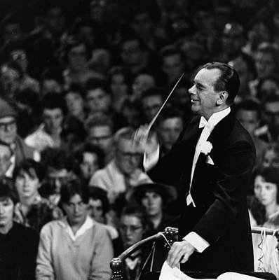 Photograph - Conducting Proms by Erich Auerbach