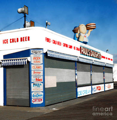 Aloha For Days - Coney Burgers by Raymond Earley