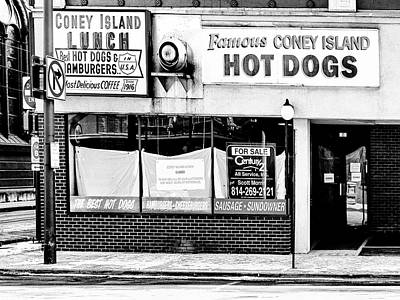 Photograph - Coney Island Lunch by Dominic Piperata