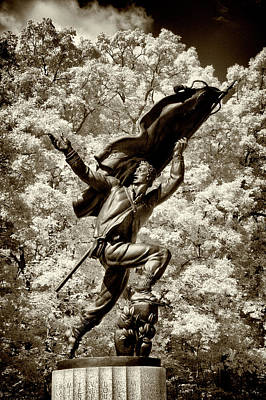 Photograph - Confederacy Memorial In Infrared by Paul W Faust - Impressions of Light